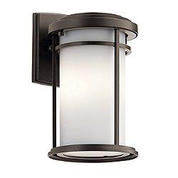 Toman Single Light Outdoor Wall Light
