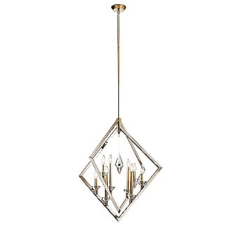 Shown in Polished Nickel and Classic Bronze finish, Large size