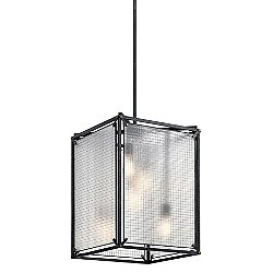 Steel Pendant Light