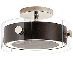 Tig LED Semi-Flush Mount Ceiling Light