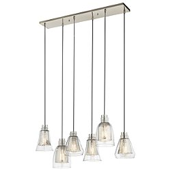Evie 6 Light Chandelier