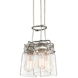 Brinley 3 Light Pendant Light
