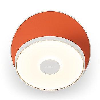 Matte Orange Shade / Matte White Base