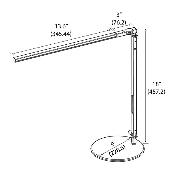 Z-Bar Solo Gen 3 LED Desk Lamp