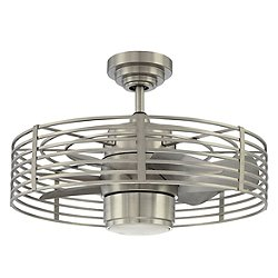 Enclave 23 by Kendal Lighting (Satin Nickel)-OPEN BOX RETURN