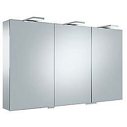 Royal 15 Triple Door Mirrored Cabinet