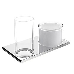 Edition 400 Tumbler Holder with Lotion Dispenser - OPEN BOX