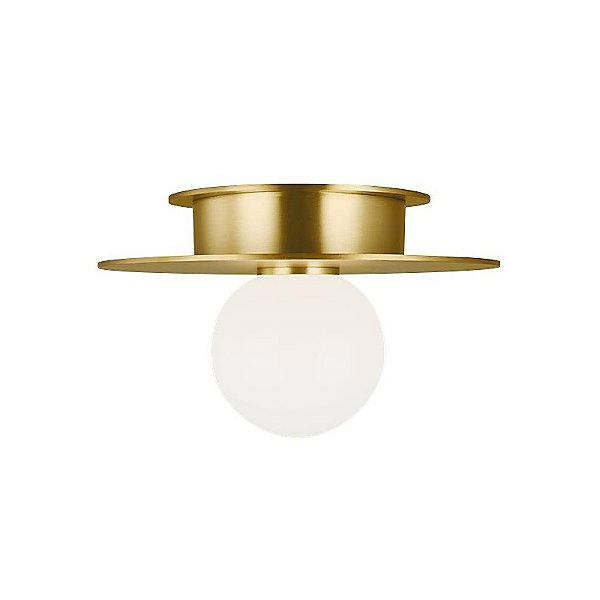 Kelly By Kelly Wearstler Nodes 1 Light Flush Mount Ceiling Light Ylighting Com