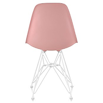 Blush seat color with Wire Base/White