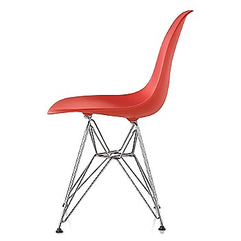 Red Orange seat color with Wire Base/Trivalent Chrome