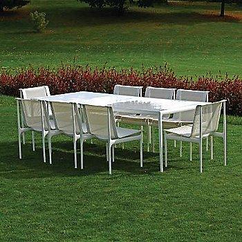 Shown in White Fiberglass with White frame, 38-In X 90-In