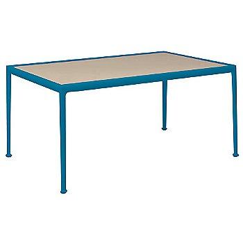 Warm Wood Porcelain Color / Blue Frame / 38-In X 60-In Size