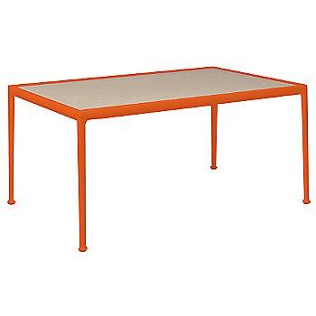 Warm Wood Porcelain Color / Orange Frame / 38-In X 60-In Size