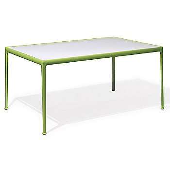 Shown in White Fiberglass with Lime Green frame, 38-In X 60-In