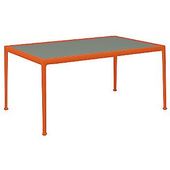 Light Bronze Porcelain Color / Orange Frame / 38-In X 60-In Size