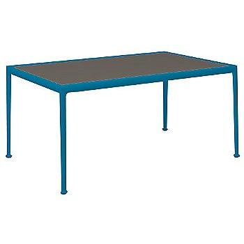 Dark Bronze Porcelain Color / Blue Frame / 38-In X 60-In Size