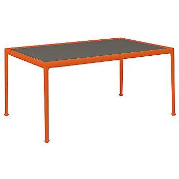 Dark Bronze Porcelain Color / Orange Frame / 38-In X 60-In Size