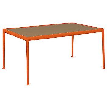 Warm Bronze Porcelain Color / Orange Frame / 38-In X 60-In Size