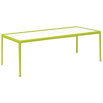White Fiberglass Color / Lime Green Frame / 38-In X 90-In Size
