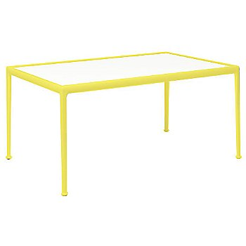 White Fiberglass Color / Yellow Frame / 38-In X 60-In Size