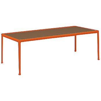Brown Porcelain Color / Orange Frame / 38-In X 90-In Size