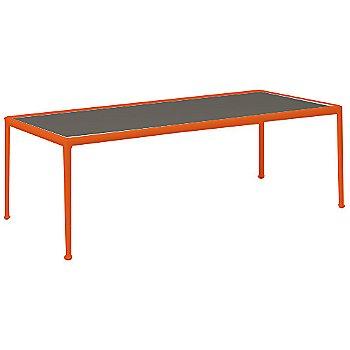 Dark Bronze Porcelain Color / Orange Frame / 38-In X 90-In Size