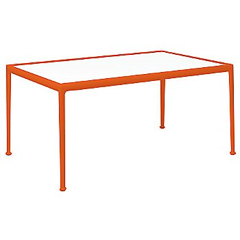 Clear Tempered Glass Color / Orange Frame / 38-In X 60-In Size