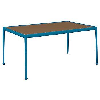 Brown Porcelain Color / Blue Frame / 38-In X 60-In Size