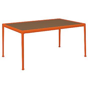 Brown Porcelain Color / Orange Frame / 38-In X 60-In Size