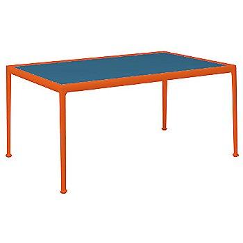 Marine Blue Porcelain Color / Orange Frame / 38-In X 60-In Size