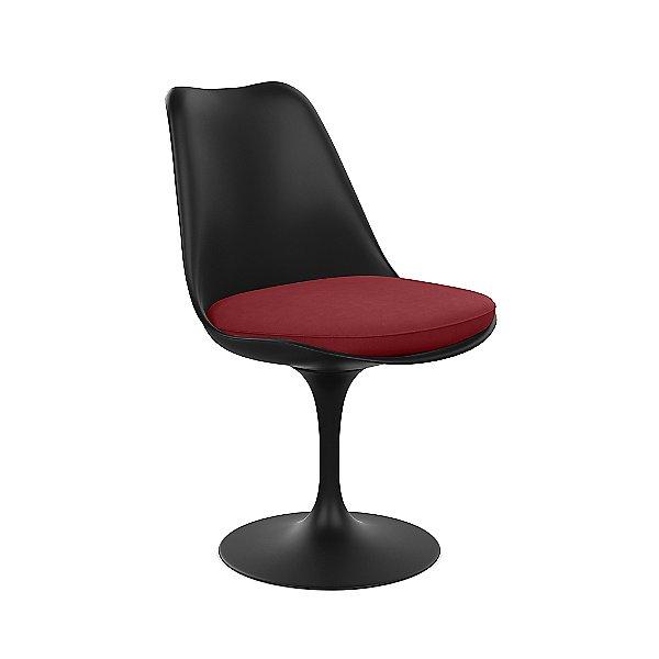 Tulip Armless Chair with Seat Cushion