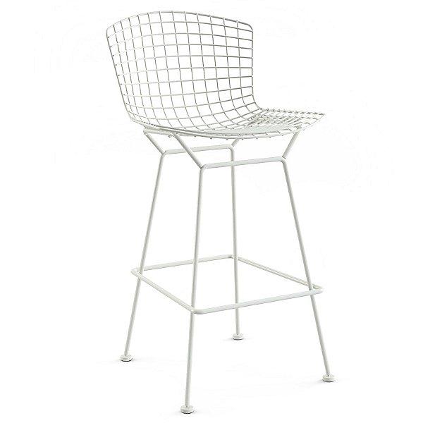 Unupholstered Bertoia Barstool, Outdoor