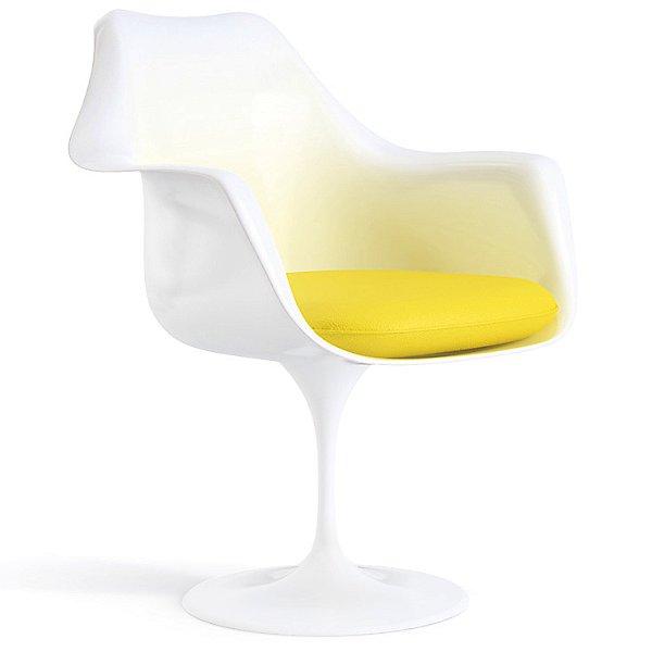 Tulip Armchair with Seat Cushion