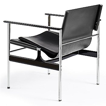 Shown in Belting Leather Black with Portofino Leather: Black