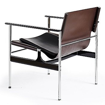 Shown in Belting Leather Chocolate with Portofino Leather: Black