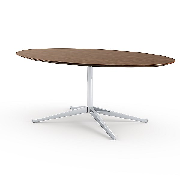 Florence Knoll Oval Table Desk