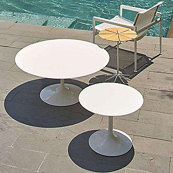 Shown in Vetro Biano Engineered Stone top, White base finish