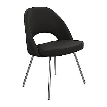 Shown in Classic Boucle: Pumpernickel Fabric Color, Black Finish