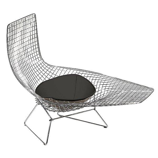 Bertoia Asymmetric Chaise with Seat Cushion