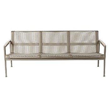 Bronze fabric / Warm Wood frame / Sand trim