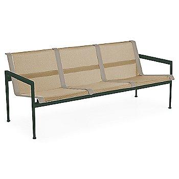Bronze Fabric / Green Frame / Sand Trim