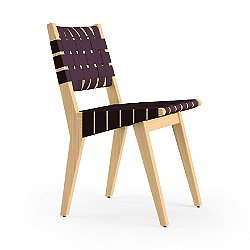 Risom Side Chair with Webbed Back and Seat