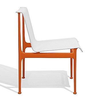Shown in White with Orange frame