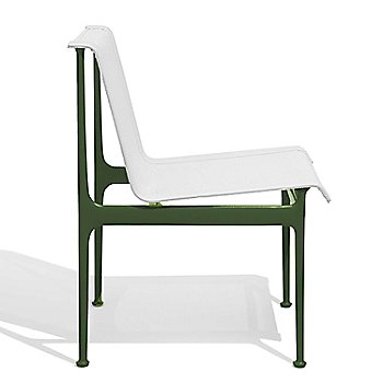 Shown in White with Green frame