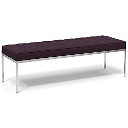 Florence Knoll Relaxed Three-Seat Bench