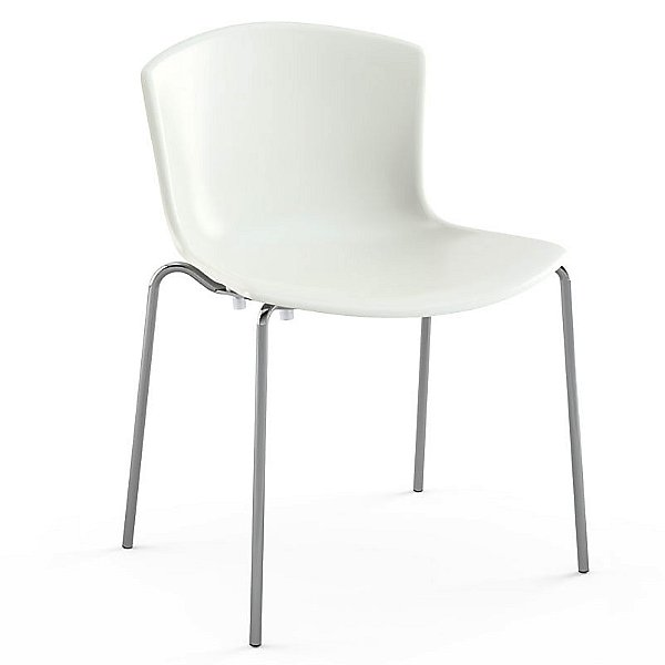 Bertoia Molded Shell Stacking Side Chair