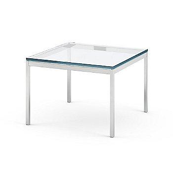 Satin Chrom finish / Clear Glass option