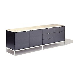 Florence Knoll Two-Door + Five-Drawer Credenza
