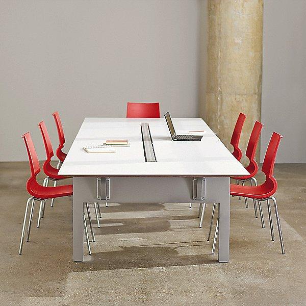Gigi Stacking Armless Chair