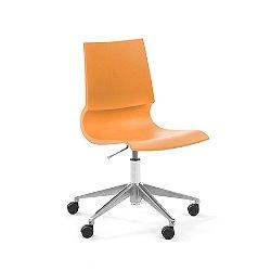 Gigi Swivel Armless Chair